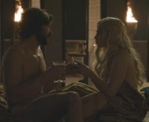 Game of Thrones, Season 1 Episode 5, Daario, Dany
