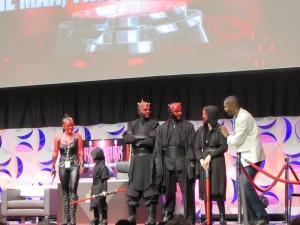 Star Wars Celebration Anaheim, Darth Maul