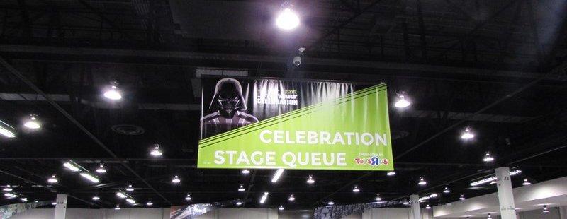 Star Wars Celebration Stage Queue