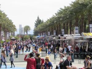 WonderCon Anaheim 2015, food trucks