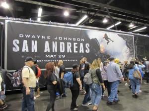 WonderCon Anaheim 2015, San Andreas