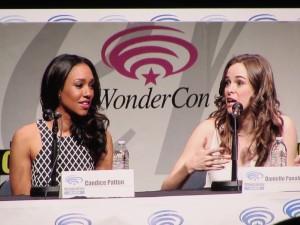 WonderCon Anaheim 2015, The Flash, Candice Patton, Danielle Panabaker