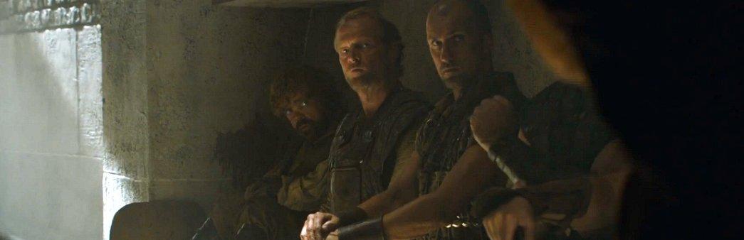 Game of Thrones, Season 5 Episode 7, The Gift, Tyrion, Jorah