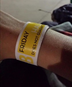 SDCC 2014 Hall H wristband