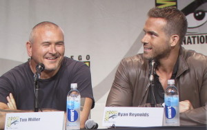 SDCC, SDCC 2015, Deadpool, Tim Miller, Ryan Reynolds