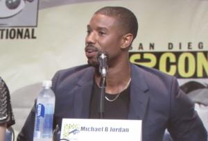 SDCC, SDCC 2015, Fantastic Four, Michael B. Jordan