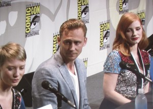 SDCC, SDCC 2015, Legendary, Crimson Peak, Mia Wasikowska, Tom Hiddleston, Jessica Chastain