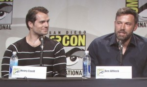 SDCC 2015, Warner Bros, Hall H, Batman v Superman, Henry Cavill, Ben Affleck