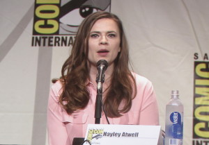 SDCC, SDCC 2015, Women Who Kick Ass, Hayley Atwell