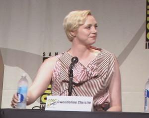 SDCC, SDCC 2015, Women Who Kick Ass, Gwendoline Christie