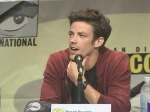 SDCC, SDCC 2015, The Flash, Grant Gustin