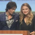 SDCC, SDCC 2015, Supergirl, Ian Somerhalder, Melissa Benoist