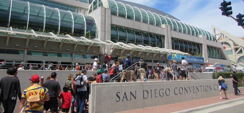 SDCC, SDCC 2015, Sunday, San Diego Convention Center