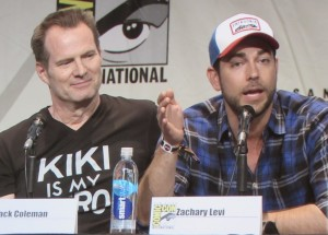 SDCC, SDCC 2015, Heroes Reborn, Hall H, Sunday, Jack Coleman, Zachary Levi