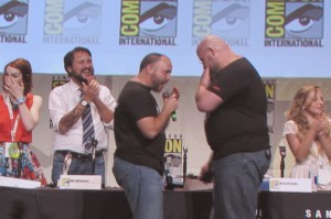 SDCC 2015 Thursday Con Man Panel, Billy Bishop, Barry Brooks