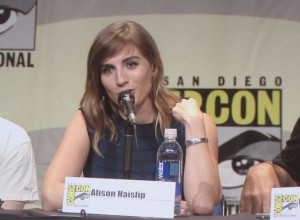 SDCC 2015 Thursday Con Man Panel, Alison Haislip