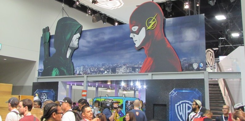 SDCC 2015, Preview Night, Arrow, The Flash