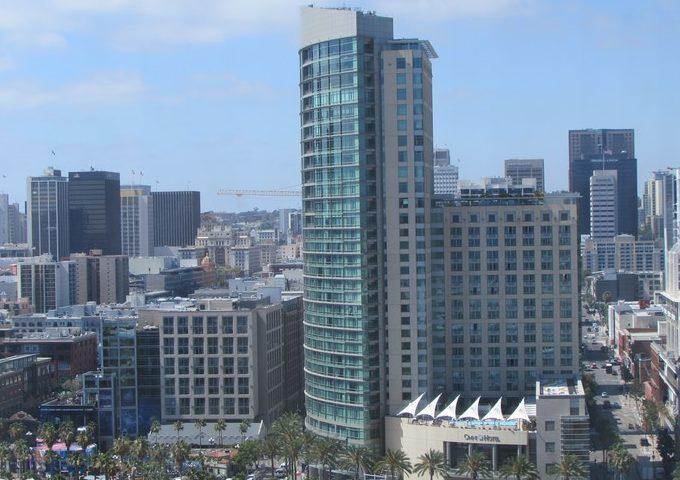 SDCC, Omni Hotel, San Diego