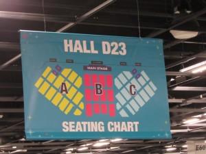 D23 Expo 2015, Hall D23