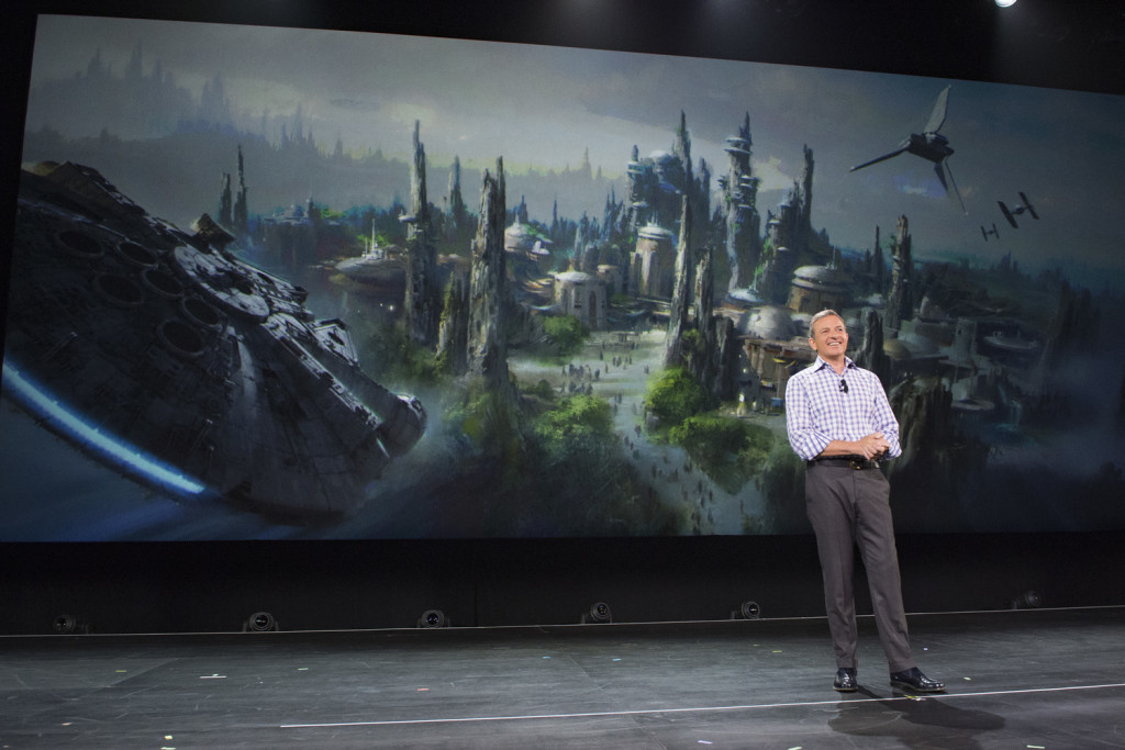 D23 Expo 2015, Bob Iger, Star Wars Land