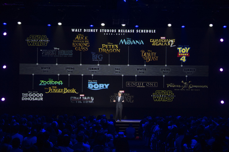 ALAN HORN (Chairman, The Walt Disney Studios)