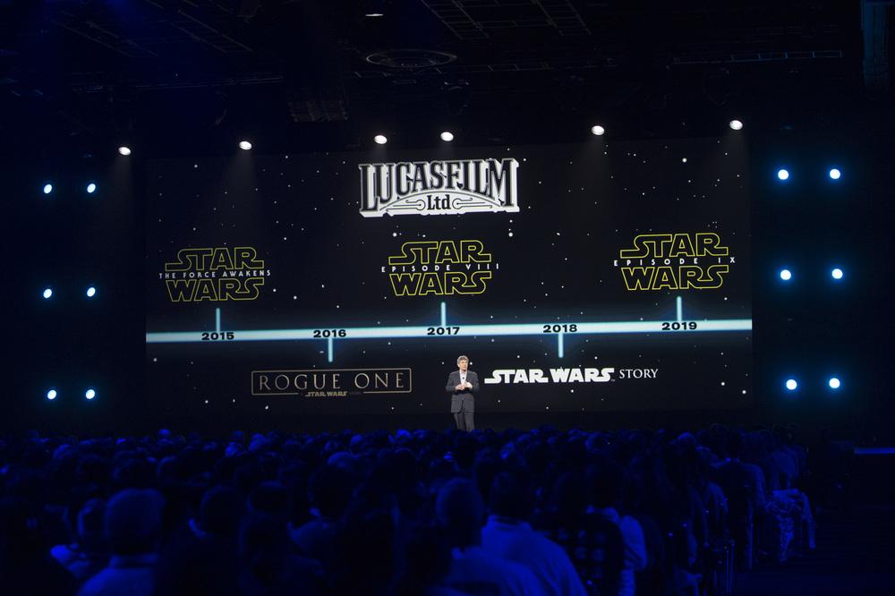 D23 Expo 2015, Star Wars, Lucasfilm, timeline, Alan Horn