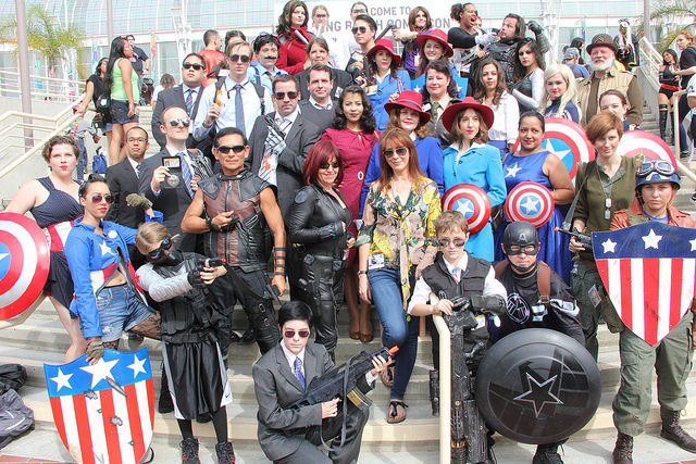Long Beach Comic Con, LBCC 2015, Marvel, Agents of SHIELD, Agent Carter, cosplay