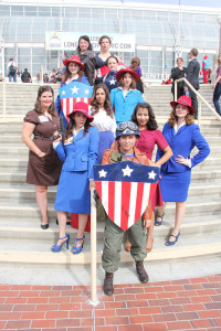 Long Beach Comic Con, LBCC 2015, Cosplay, Agent Carter, Captain America