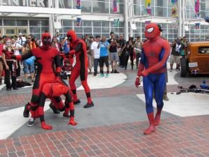 LBCC 2015, Long Beach Comic Con, Deadpool, dance party