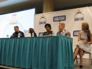 LBCC 2015, Long Beach Comic Con, Daredevil, Christos Gage, Ruth Fletcher Gage, Peter Shinkoda, Tommy Walker, Andrea Letamendi
