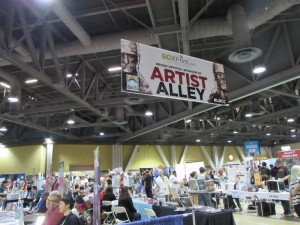 Long Beach Comic Con, LBCC 2015, Artist Alley, Exhibit Hall