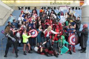 Comikaze 2015, Marvel cosplay