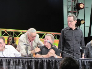 Comikaze 2015, William Shatner, Stan Lee