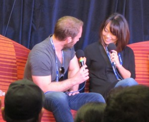 Gallifrey One 2016, Will Thorp, Naoko Mori