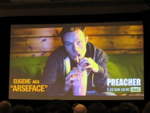 WonderCon 2016, Friday, Preacher, Arseface