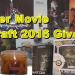 Summer Movie Draft 2016 Giveaway!