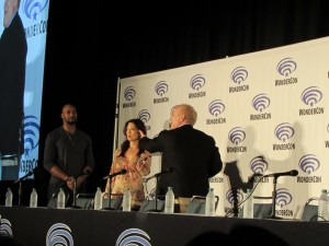 WonderCon 2016, Agents of SHIELD, Mack, May, Henry Simmons, Ming-Na Wen, Jeph Loeb