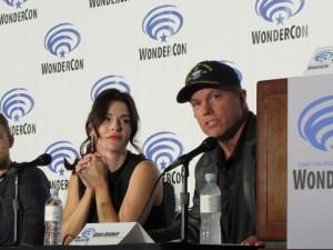 WonderCon 2016, The Last Ship, Bridget Regan, Adam Baldwin
