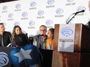 WonderCon 2016, Agents of SHIELD, Chloe Bennet, Clark Gregg