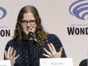 WonderCon 2016, The Nerdist, Alicia Lutes