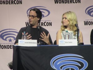 WonderCon 2016, The 100, Jason Rothenberg, Eliza Taylor