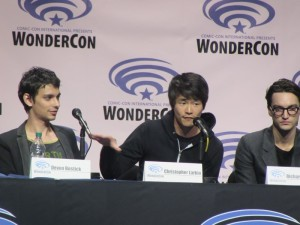WonderCon 2016, The 100, Devon Bostick, Christopher Larkin, Richard Harmon