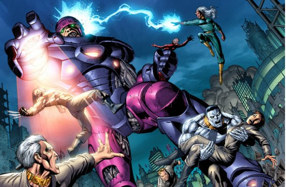 The Sentinels are the big robotic villains that the <em>X-Men</em> have fought several times in the comics.  What is the first movie in which the Sentinels are first introduced?