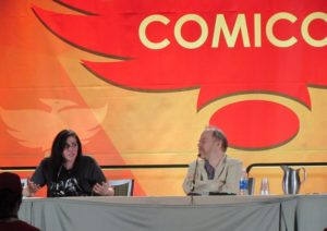 Phoenix Comicon 2016, Neve McIntosh, Dan Starkey
