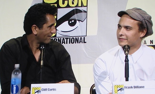 SDCC 2016, Fear the Walking Dead, Cliff Curtis, Frank Dillane