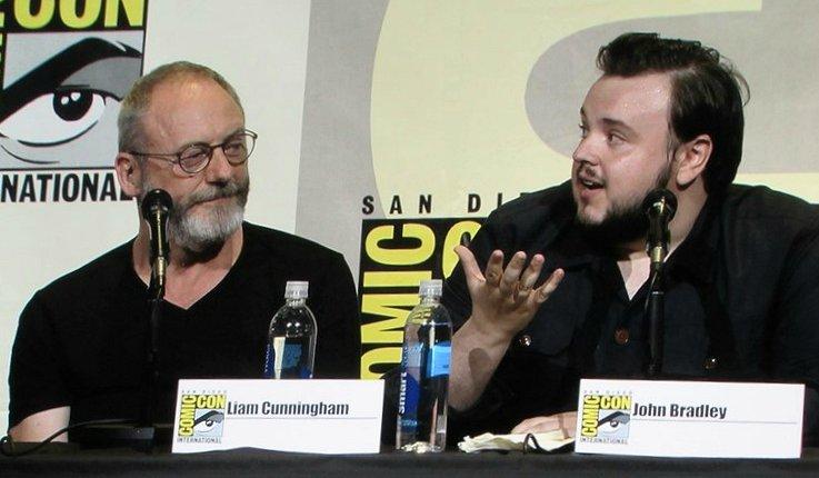 SDCC 2016, Game of Thrones, Liam Cunningham, John Bradley