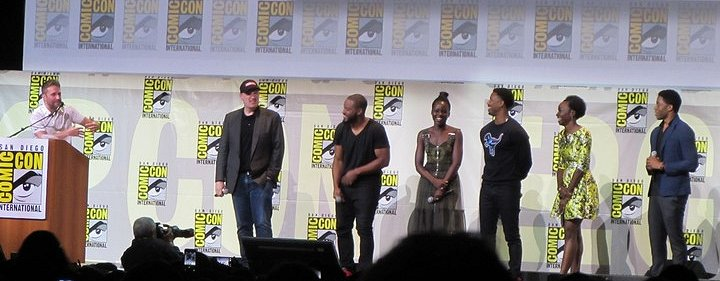 SDCC 2016, Marvel Studios, Black Panther, Chris Hardwick, Kevin Feige, Ryan Coogler, Lupita lupita Nyong'o, Danai Gurira, Michael B. Jordan