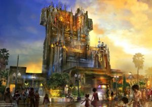 SDCC 2016, Marvel Studios, Guardians of the Galaxy, Tower of Terror, Disneyland