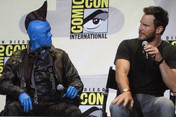 SDCC 2016, Marvel Studios, Guardians of the Galaxy Vol. 2, Michael Rooker, Yondu, Chris Pratt, Star-Lord