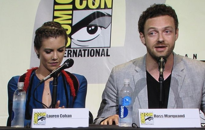 SDCC 2016, The Walking Dead, Lauren Cohan, Ross Marquand